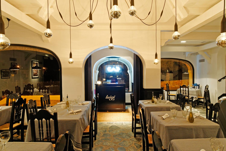 Programa de branding global para el restaurant luigi for Programa interiorismo online